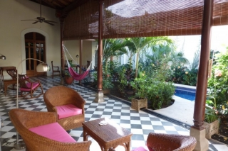 Hotel Casa Cubana Granada - Lounge & chill out area