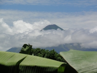 Ometepe Island - Above the clouds